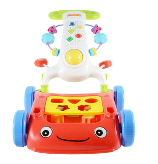 Cute Electric Musical Handheld Baby Walker With Rubber Weels
