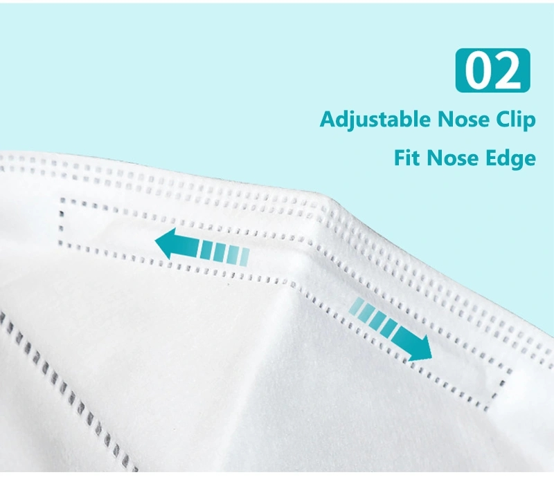 FDA Approved KN95 Respirator Face Mask with Filter