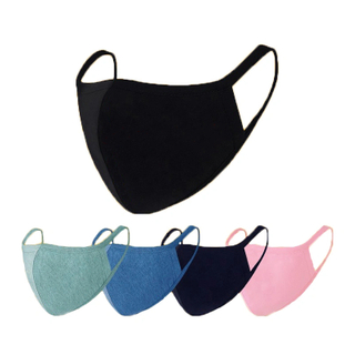 Reusable Black Cotton Anti Dust Comfortable Face Mask