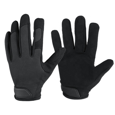 Motorcycle Black Sports Bike Gloves For Gym Protective