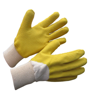 Cotton Heavy Duty Work Protection Gloves For Manual Labor